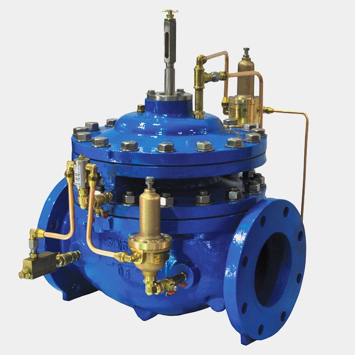 automatic control valves high performance valves pressure reducing singer valve summit. Black Bedroom Furniture Sets. Home Design Ideas
